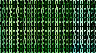 Gambar Bilangan Biner