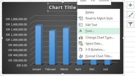 Edit Chart Excel