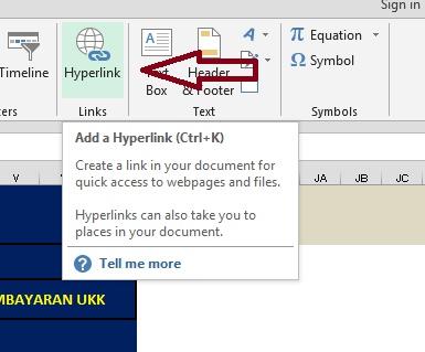 Membuat Hyperlink