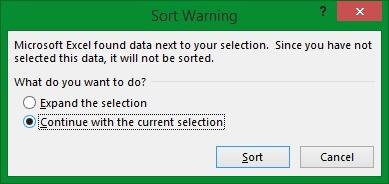 Panduan Microsoft Excel - Cara Sort Data A-Z