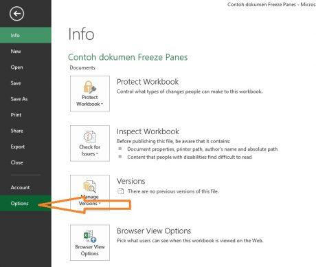 1. Menambahkan tab Developer di Excel