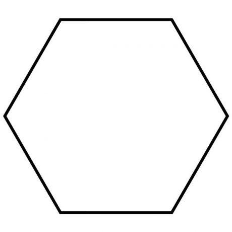 gambar segi enam